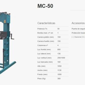 mecamaqmc50